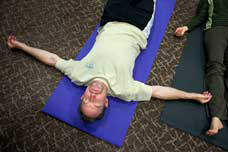 Mindfulness relaxation classes help reduce stress