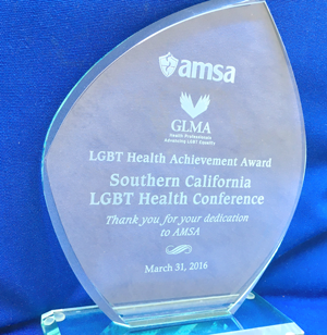 LGBT Health Achievement Award