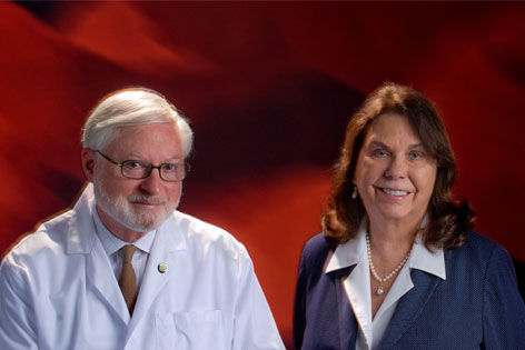 Christine and Gordon McLaren, UC Irvine researchers