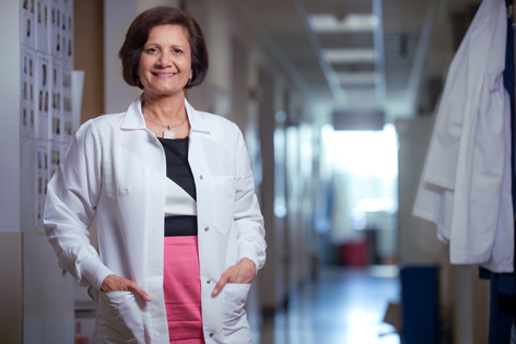 UC Irvine Health pediatric genetics professor Dr. Virginia Kimonis