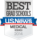 U.S. News & World Report Best Medical School for Research, 2014