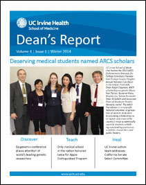 Dean's Report Winter 2014