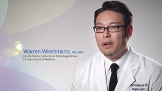 Dr. Warren Wiechmann discusses medical technology at UC Irvine School of Medicine